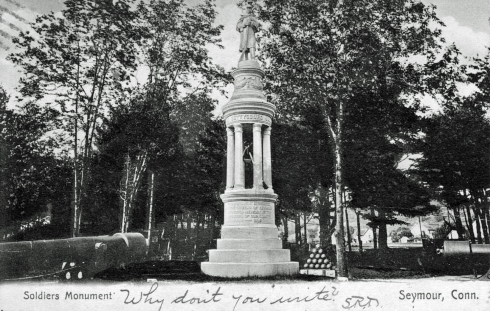 Soldiers' Monument, Seymour