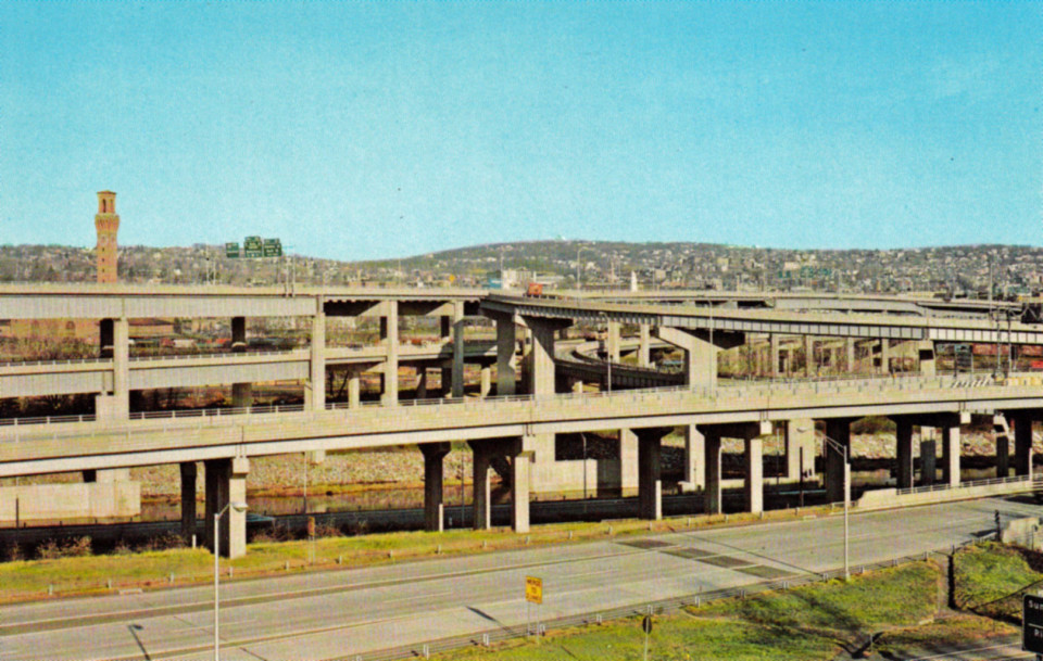 Route 8/84 Interchange, Waterbury