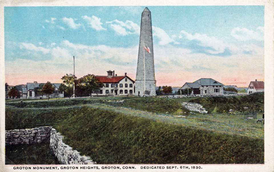 Groton battle monument