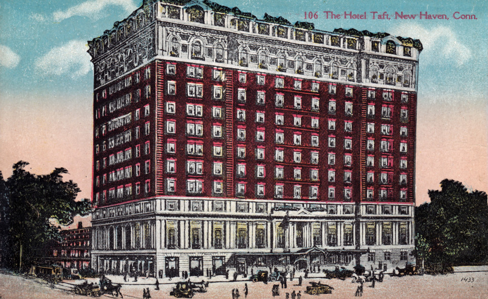 Hotel Taft, New Haven