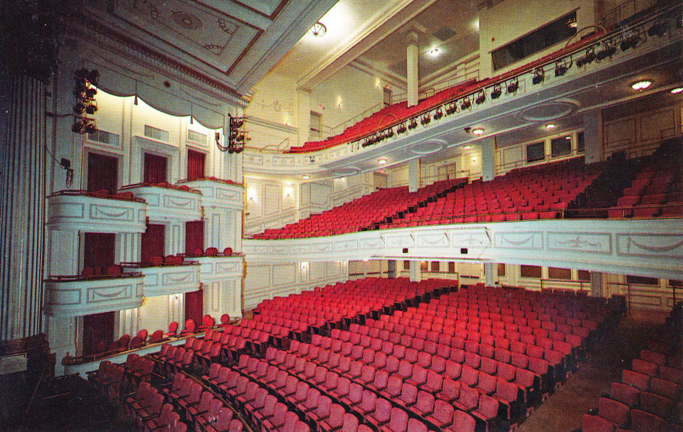 Shubert Theatre, New Haven