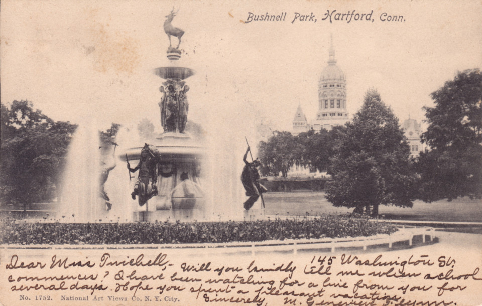 Corning Fountain, Hartford