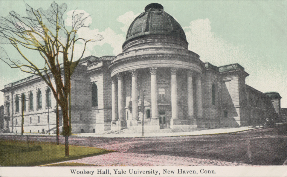 Woolsey Hall, New Haven