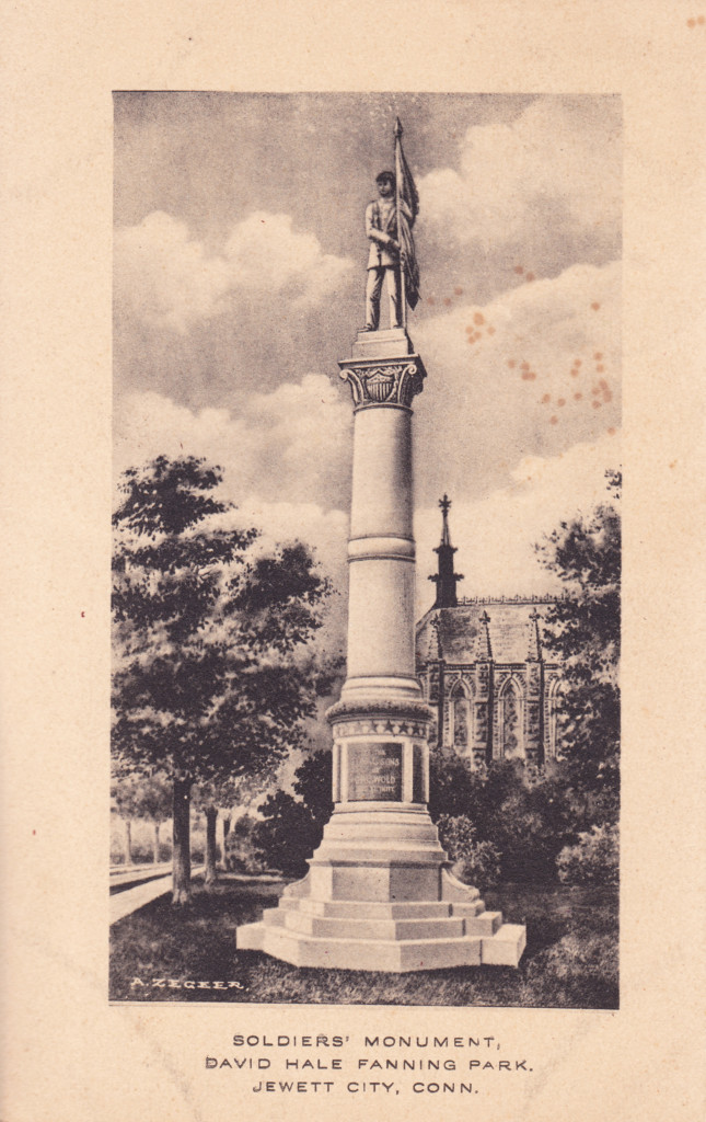 Soldiers' Monument, Jewett City