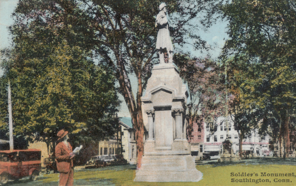 Soldiers' Monument, Southington