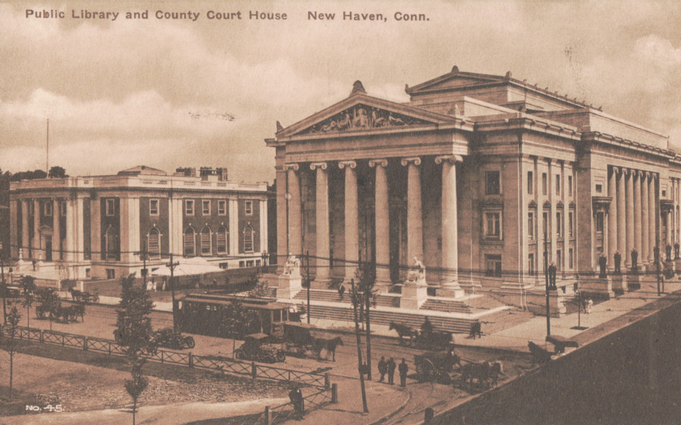 New Haven Library and County Courthouse