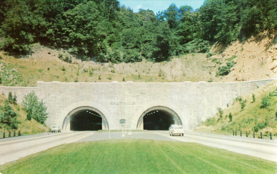 West Rock Tunnel, New Haven