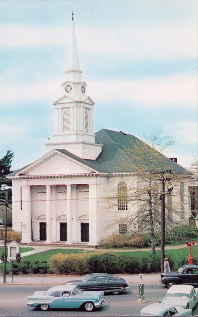 Center Congregational Church, Manchester