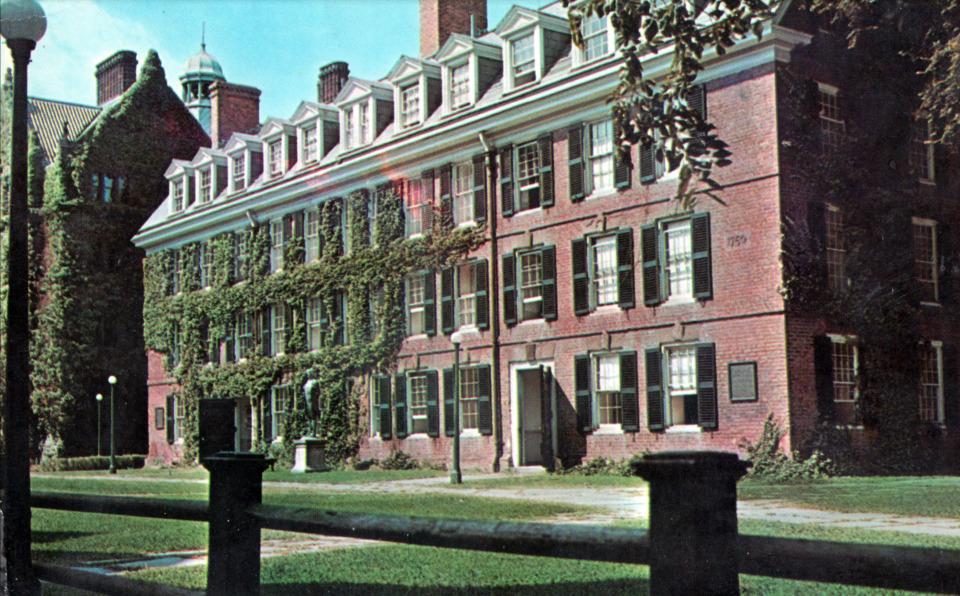 Connecticut Hall, Yale