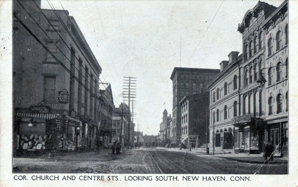 Church and Center Streets, New Haven