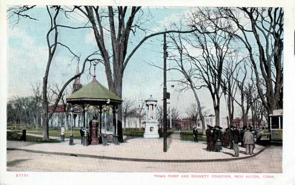 Bennett Memorial Fountain, New Haven