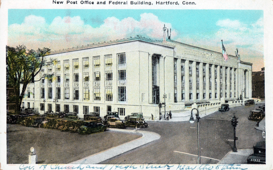 Post Office and Federal Building, Hartford
