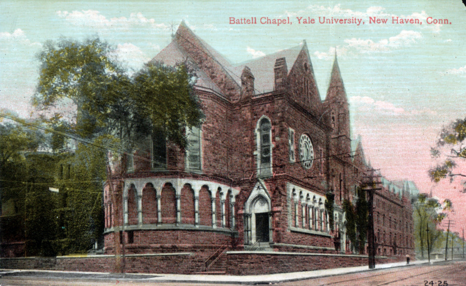 Battell Chapel, Yale