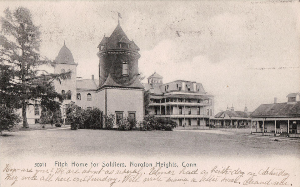 Fitch Home for Soldiers, Darien
